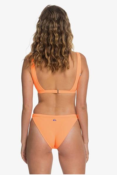 Плавки женские QUIKSILVER Swimbottombik Orange Pop