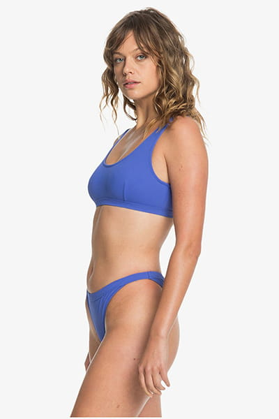 Плавки женские QUIKSILVER Swimbottombik Dazzling Blue