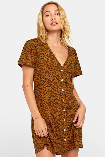 Платье женское Rvca Guilt Dress Bronze