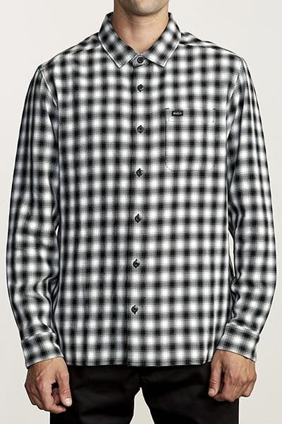 Рубашка Rvca Telegraph Ls Black