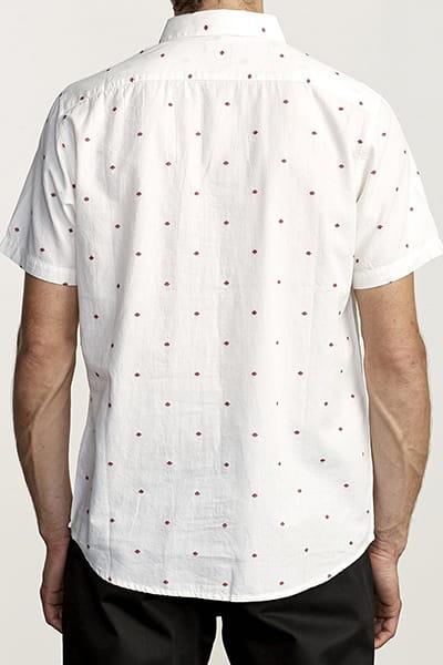 Рубашка Rvca Thatll Do Dobby Ss White/Red