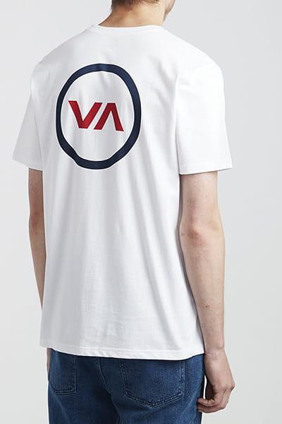 Футболка Rvca Va Mod Ss White