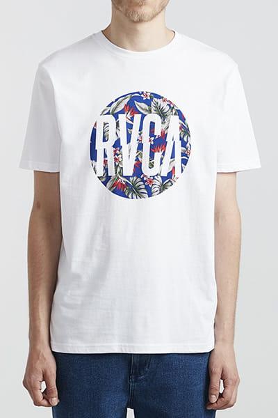 Футболка Rvca Big Motors Ss White