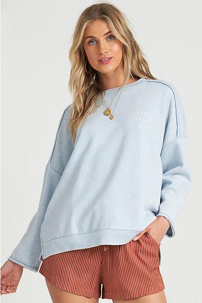 Джемпер женский Billabong Eco Fleece Coastal Blue