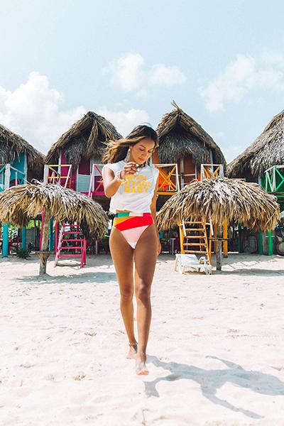Плавки женские Billabong Mas Fiestas Rise Multi