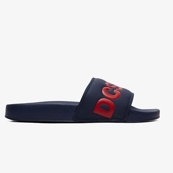 Шлепанцы DC Shoes Slide Sndl Nrd Navy/Red