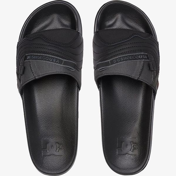 Шлепанцы DC Shoes Williams Slide Sndl Blg Black/Grey