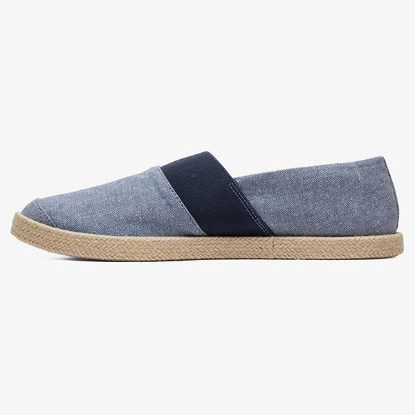 Слипоны QUIKSILVER Espadrilled Shoe Blue/White/Blue