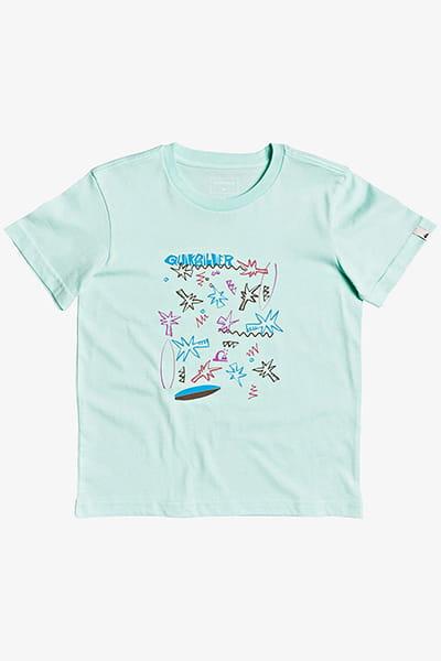 Футболка детская QUIKSILVER Fizzlerocksss K Tees Gcz0 Beach Glass