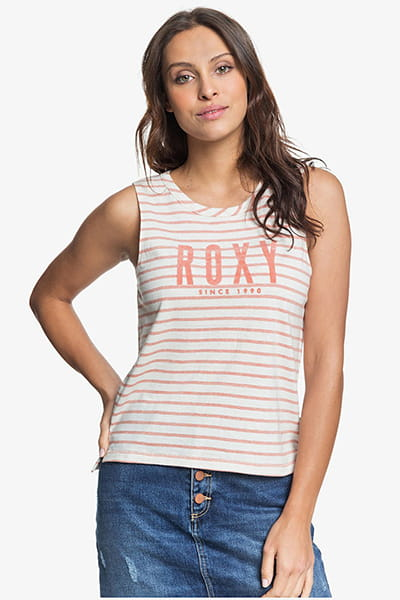 Майка женская Roxy Are you gonna free Tees Cafe Creme Zoupla