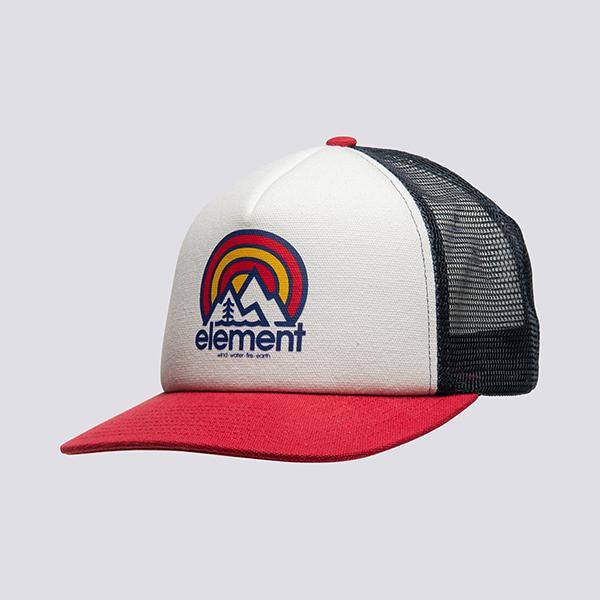 Бейсболка с сеткой Element Rift Trucker Cap White