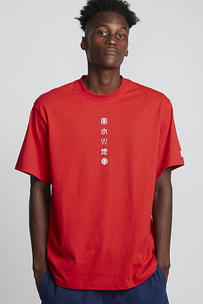 Футболка Element Yuki Fire Red