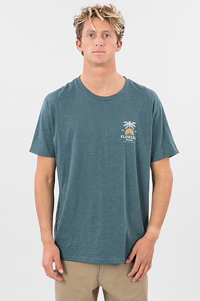 Футболка Rip Curl Diamond Sea Tee Navy Heather