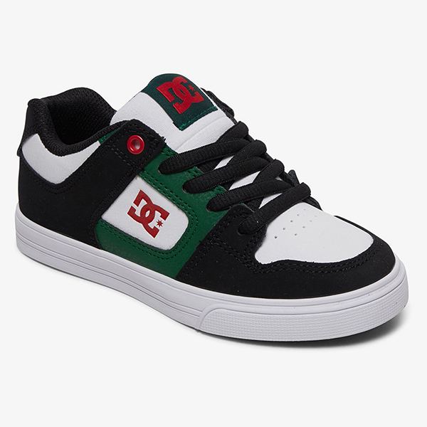 Кеды детские DC Shoes Pure Shoe Grey/Green