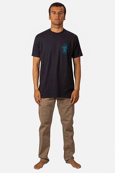 Футболка Rip Curl Search Roots Pre Tee Black