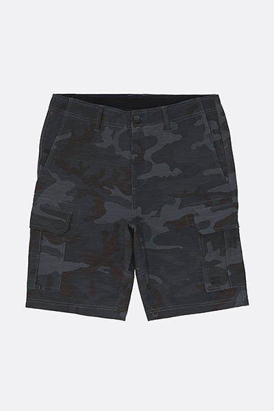 Шорты Billabong Scheme Submersible Charcoal Camo-73
