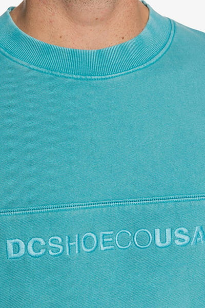 Джемпер DC Shoes Roseburg Dyed C Bls0 Teal