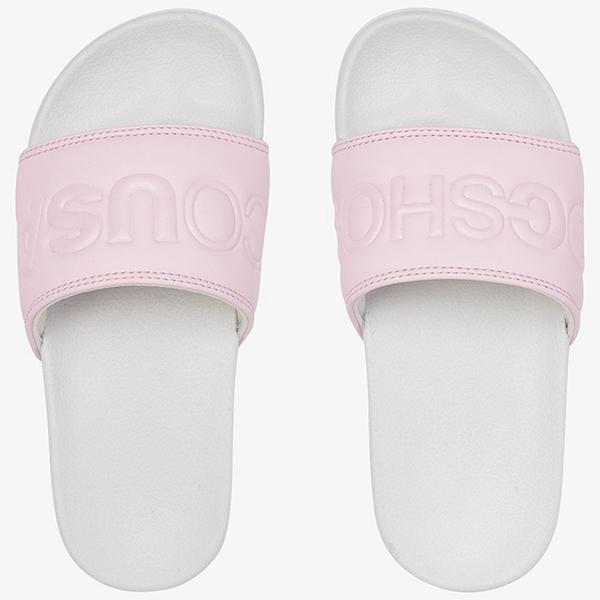 Шлепанцы детские DC Shoes Dc Slide G Gp2 Grey/Pink