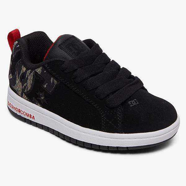 Кеды детские DC Shoes Court Graffik B Camo-74