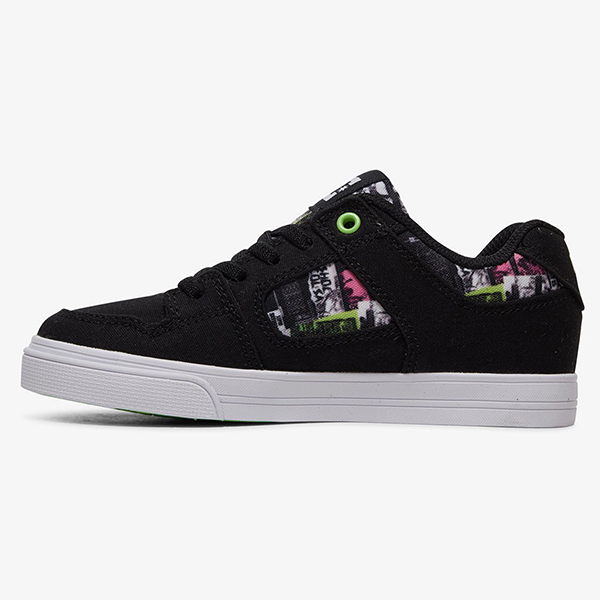 Кеды детские DC Shoes Pure Elast Txse B Black Multi-78