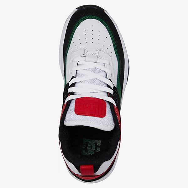 Кроссовки детские DC Shoes E.tribeka B Black/Red/Green