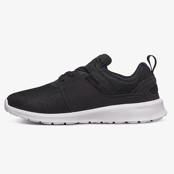 Кроссовки детские DC Shoes Heathrow B Shoe Black/White-80