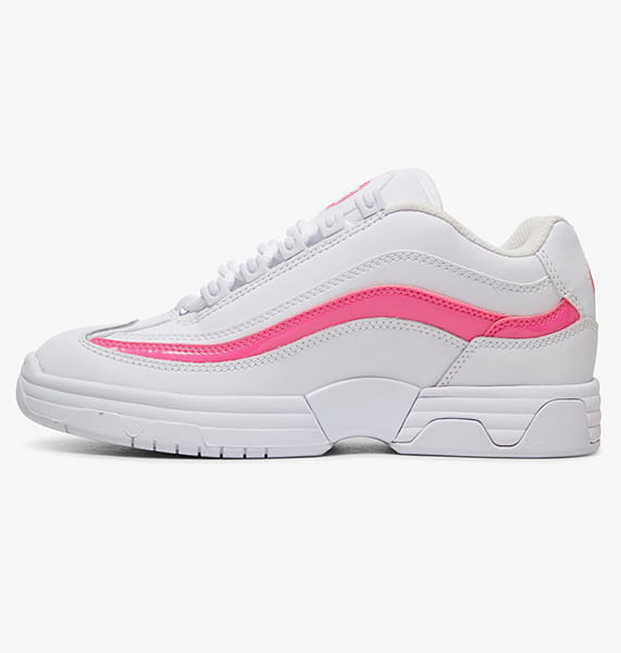 Кроссовки детские DC Shoes Legacy Lite J White/Hot Pink