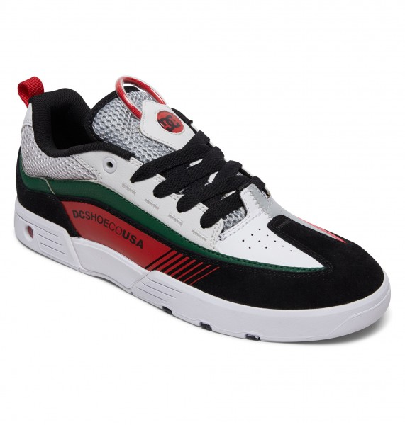 Кроссовки DC Shoes Legacy98 Slm M White/Black/Green