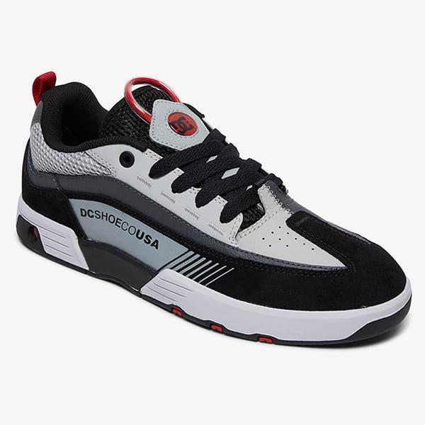 Кроссовки DC Shoes Legacy98 Slm M Black/Grey/Red