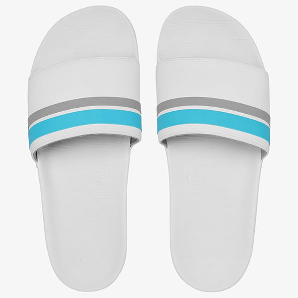 Шлепанцы QUIKSILVER Rivi Slide M White/Grey/Grey