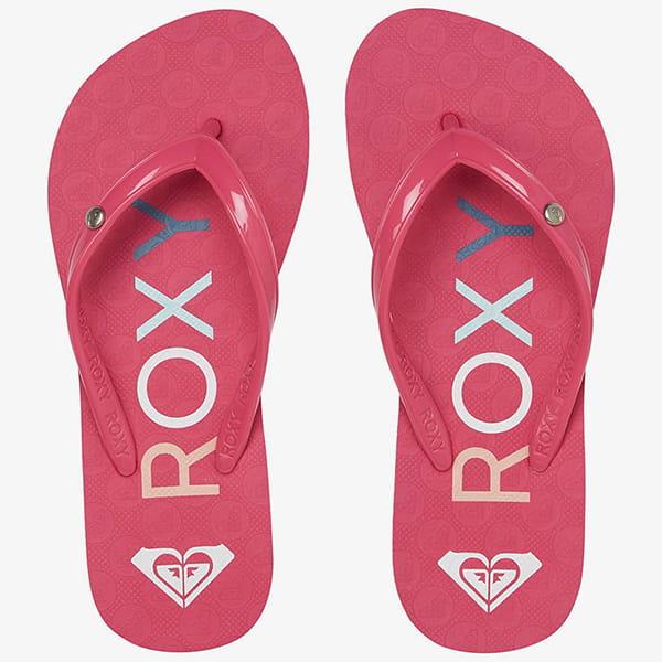 Вьетнамки детские Roxy Rg Sandy Iii G Pink/Pink
