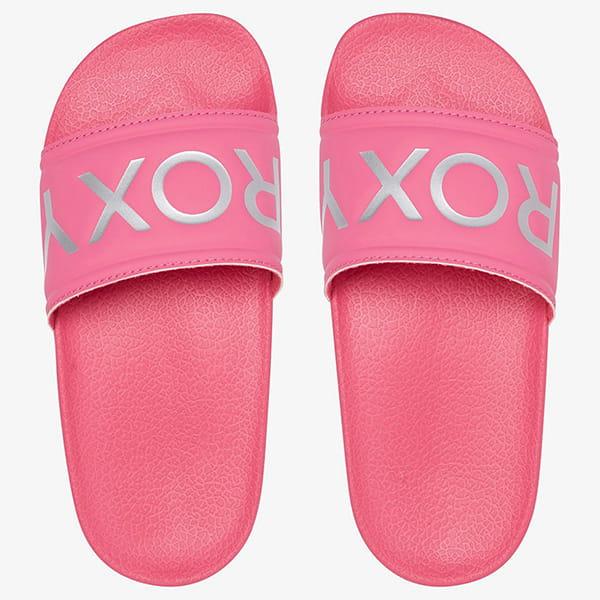 Шлепанцы детские Roxy Rg Slippy Ii G Pink/Pink