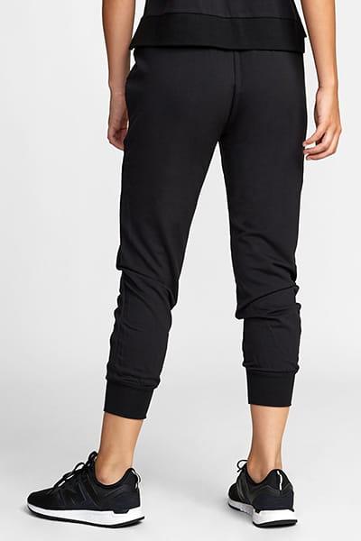 Штаны спортивные женские Rvca Classic Fleece Sweat Black
