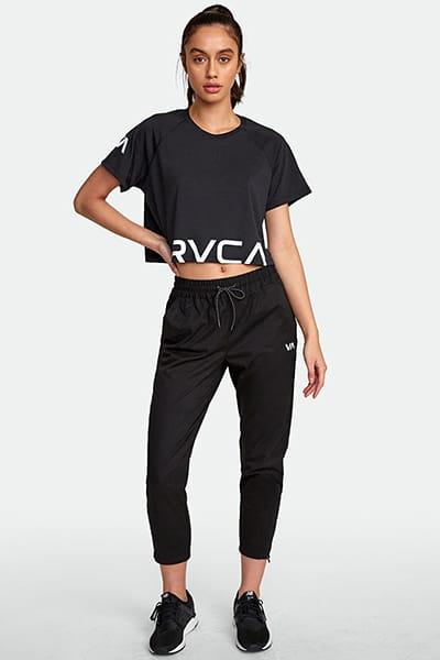 Футболка женская Rvca Va Ss Black