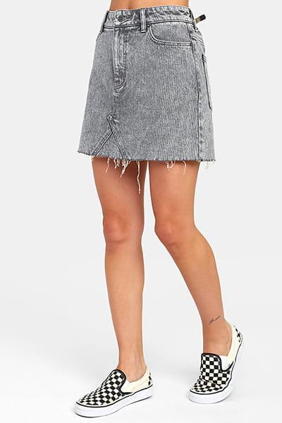 Юбка женская Rvca Siena Grey Stripe
