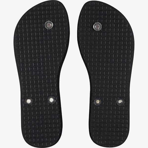 Шлепанцы женский DC Shoes Black/Rasta