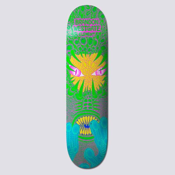 Дека для скейтборда Element Tetsunori West Assorted 8.375 (21.3 см)
