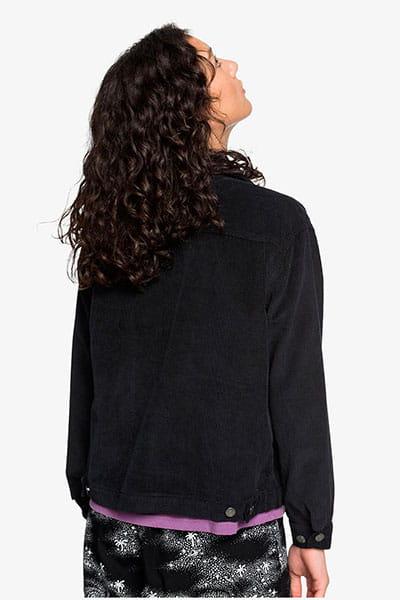 Куртка женская QUIKSILVER Cordboxyjkt Black