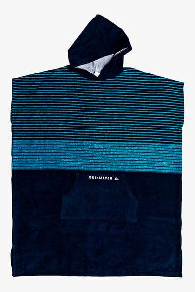 Полотенце с капюшоном QUIKSILVER Hoody Towel Caribbean Sea