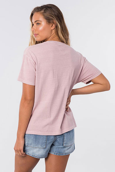 Футболка женская Rip Curl The Searchers Tee 9712 Dusk Pink S