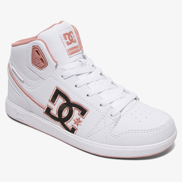 Кеды детские DC Shoes University Md S J White/Pink