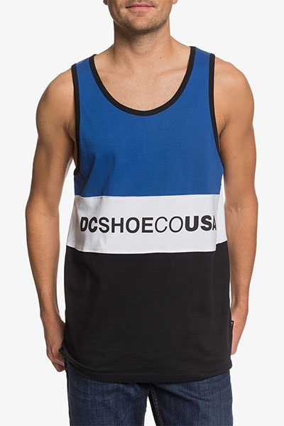 Майка DC Shoes Glenferrie Tank M Kttp Nautical Blue