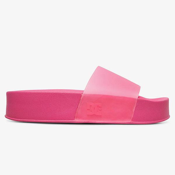 Шлепанцы детские DC Shoes Dcslidepltfrm J Sndl Hot Pink