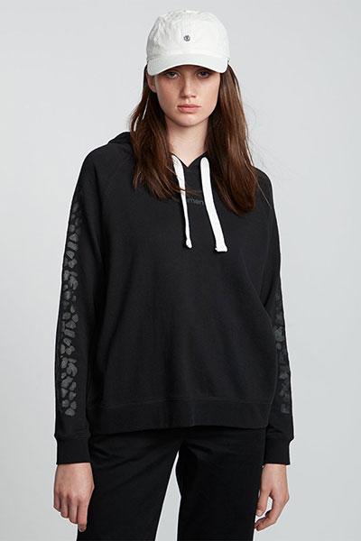 Толстовка женская Element Branded Hood Flint Black