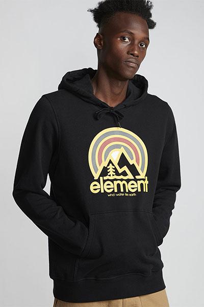 Толстовка Element Sonata Ft Hood Flint Black