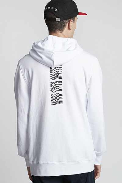 Толстовка Element Vogel Ft Hood Optic White