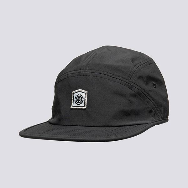 Бейсболка пятипанелька Element Locker Cap Flint Black
