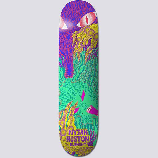Дека для скейтборда Element Tetsunori Nyjah Assorted 8.0 (20.3 см)