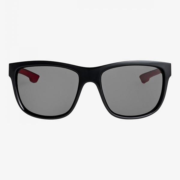 Очки QUIKSILVER Солнцезащитные Crusader M Shiny Black/Grey