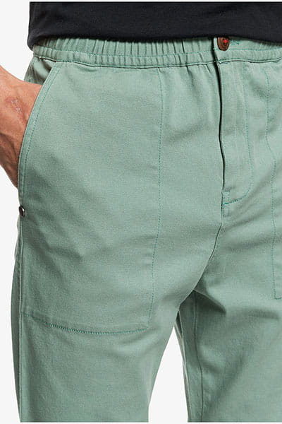 Брюки QUIKSILVER Beachpant M Ndpt Gkb0 Chinois Green